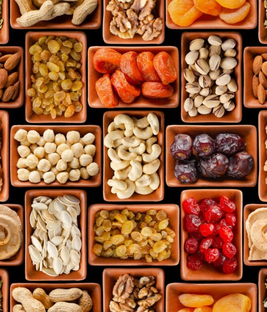 Nuts, Seeds & Dried Fruits